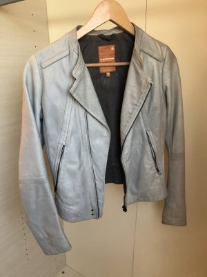 Lederjacke von G-Star mit einem Perlmutt-Effek