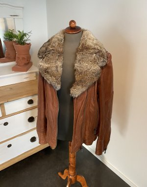 Maze Leather Jacket brown