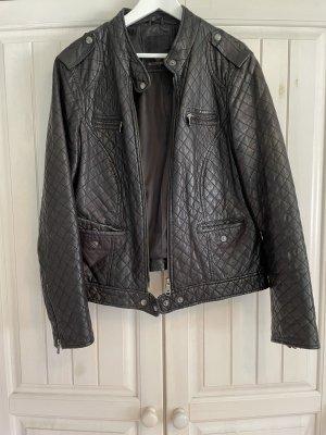 Milestone Leather Jacket black