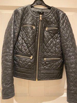 Oakwood Veste en cuir noir cuir