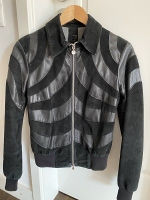 Patrizia Pepe Leather Jacket black leather