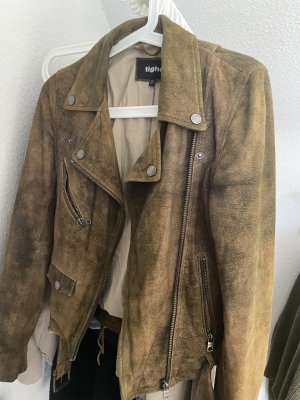 Tigha Leather Jacket brown