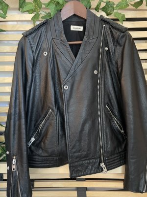 Zadig & Voltaire Leather Jacket black
