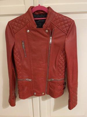 Lederjacke von Zara in Größe XS