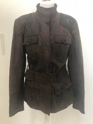 Lederjacke von Zara in S