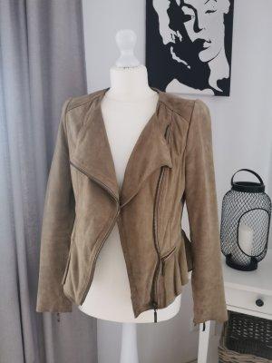 Lederjacke Zara