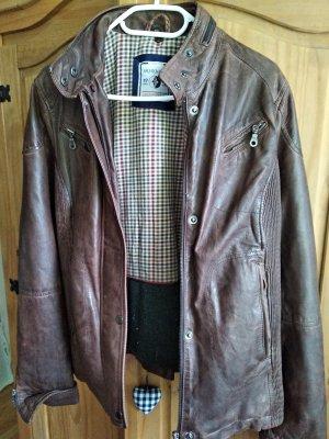 Arqueonautas Leather Jacket multicolored
