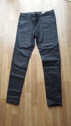 Esmara by Heidi Klum Pantalon en cuir noir
