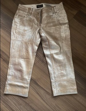 Patricia Pepe 3/4 Length Jeans silver-colored-gold-colored