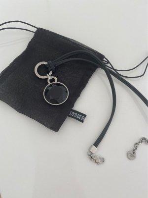 Dyrberg/Kern Statement Necklace black-silver-colored