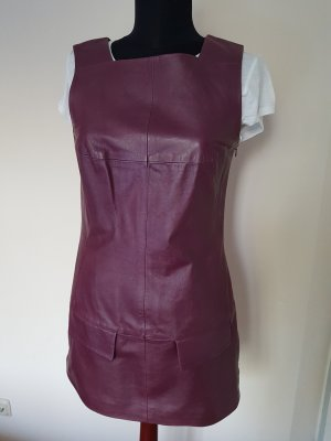 Blacky Dress Leather Dress purple