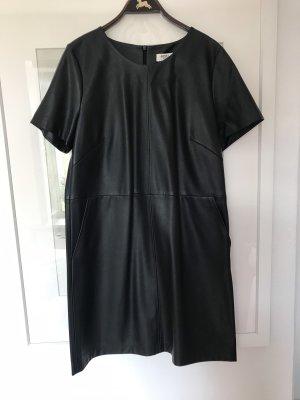 Strauss Vestito in pelle nero