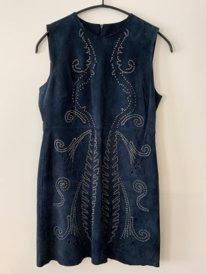 Zara Leather Dress multicolored
