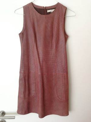 Fossil Leather Dress cognac-coloured