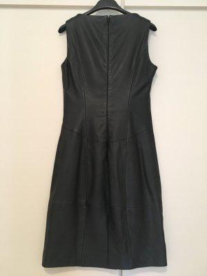 HUGO Hugo Boss Vestido de cuero negro