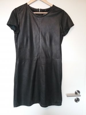 Goosecraft Leather Dress black leather