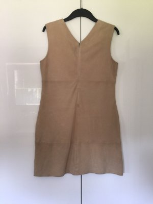 Benetton Leather Dress oatmeal