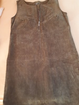 Gd Leather Dress bronze-colored leather
