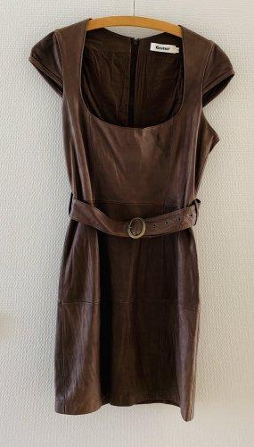 Lederkleid Kleid echtes Leder