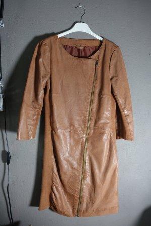 Transmission Vestito in pelle marrone-cognac Pelle