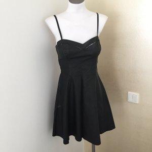 Lederkleid Minikleid Schwarz Gr. S Abercrombie & Fitch