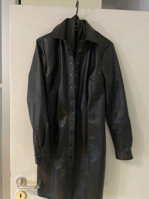 Reserved Vestido de cuero negro