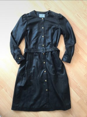 Culture Robe en cuir noir