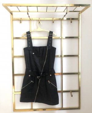 Zara Studio Leather Dress black
