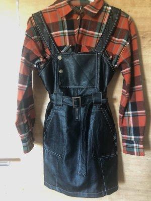 ohne Etikett Leather Skirt black