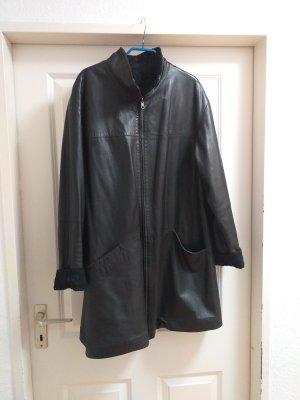 BIBA pariscop Cappotto in pelle nero