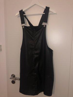 Koton Leren jurk zwart