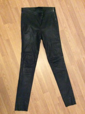 Karl Lagerfeld Leather Trousers black