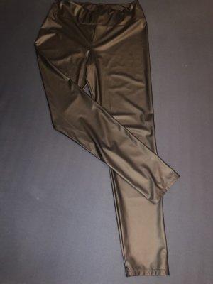 Calzedonia Pantalon en cuir noir