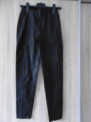 Lederleggings von Zara