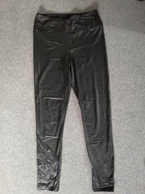 Calzedonia Leather Trousers black