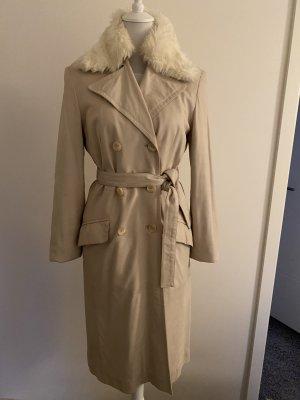 Appart Manteau en cuir beige clair cuir