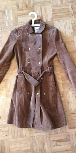 Mango Coat Dress brown