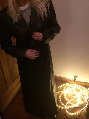 Leather Coat black