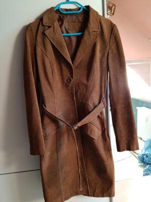 C&A Skórzana kurtka jasnobrązowy