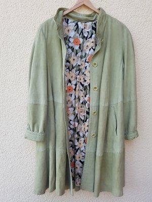 Abrigo ancho verde pálido