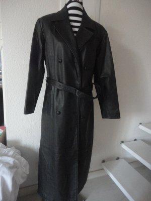 Morena Leather Coat black leather