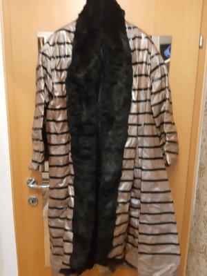 Kürschner Arbeit Manteau en cuir bronze