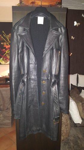 Nolita Abrigo de cuero negro