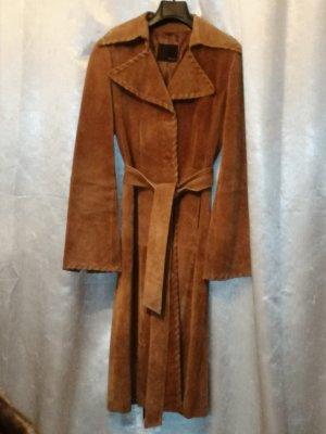 Vero Moda Manteau en cuir cognac