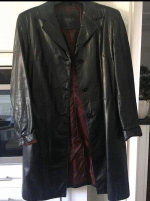 ARMA Leather Coat black