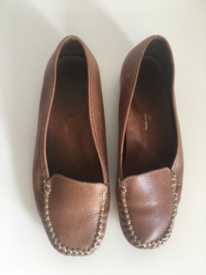 Venus Moccasins cognac-coloured-camel