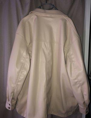 H&M Leather Blazer multicolored