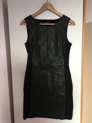 Sisters point Vestito in pelle nero