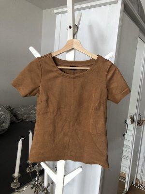 Lederoptik Shirt GR XS