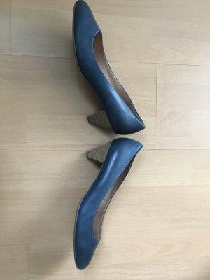 5th Avenue Pumps donkerblauw Leer